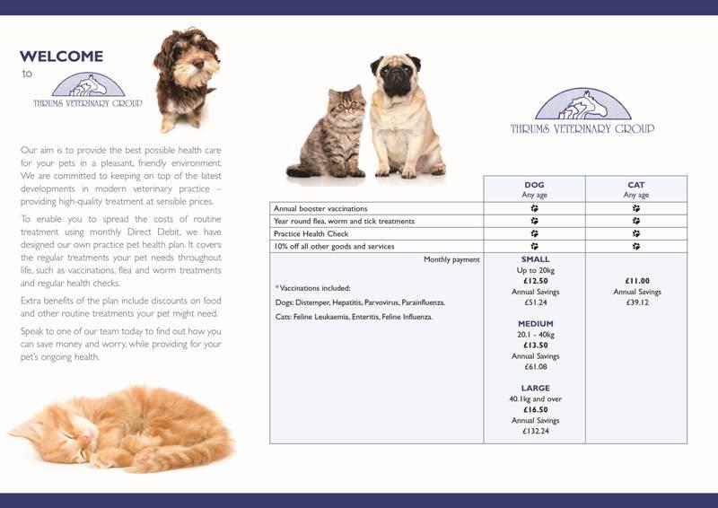 Pet Health Plan