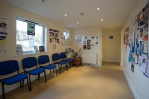 Forfar Waiting Area